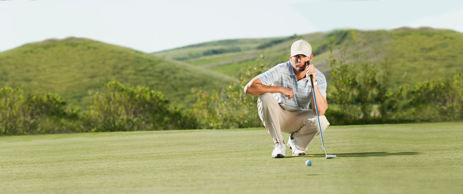 SINK YOUR PUTT, NOT YOUR NETWORK